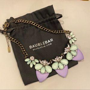 BaubleBar Paradise Persimmon Collar Necklace